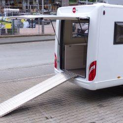 Wohnmobil Rampen Riffelblech