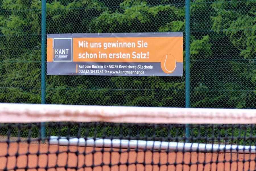 KANTmänner Sponsoring TC-Grün Weiß Silschede