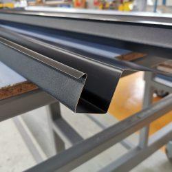KANTmänner Aluminium Dachrinne